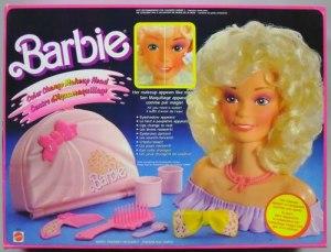 barbie-makeup-head