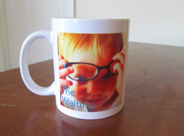 The Waiting coffee mug