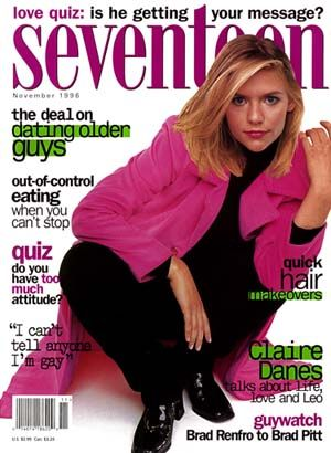Can I go ahead and just BE MSCL-era Claire Danes? Source: Hearst Publishing
