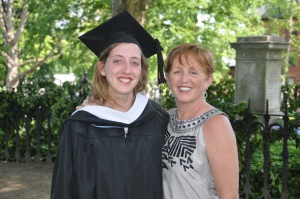 Principessa and I at her college graduation (2012).  An amazing young woman, headed into a big world.