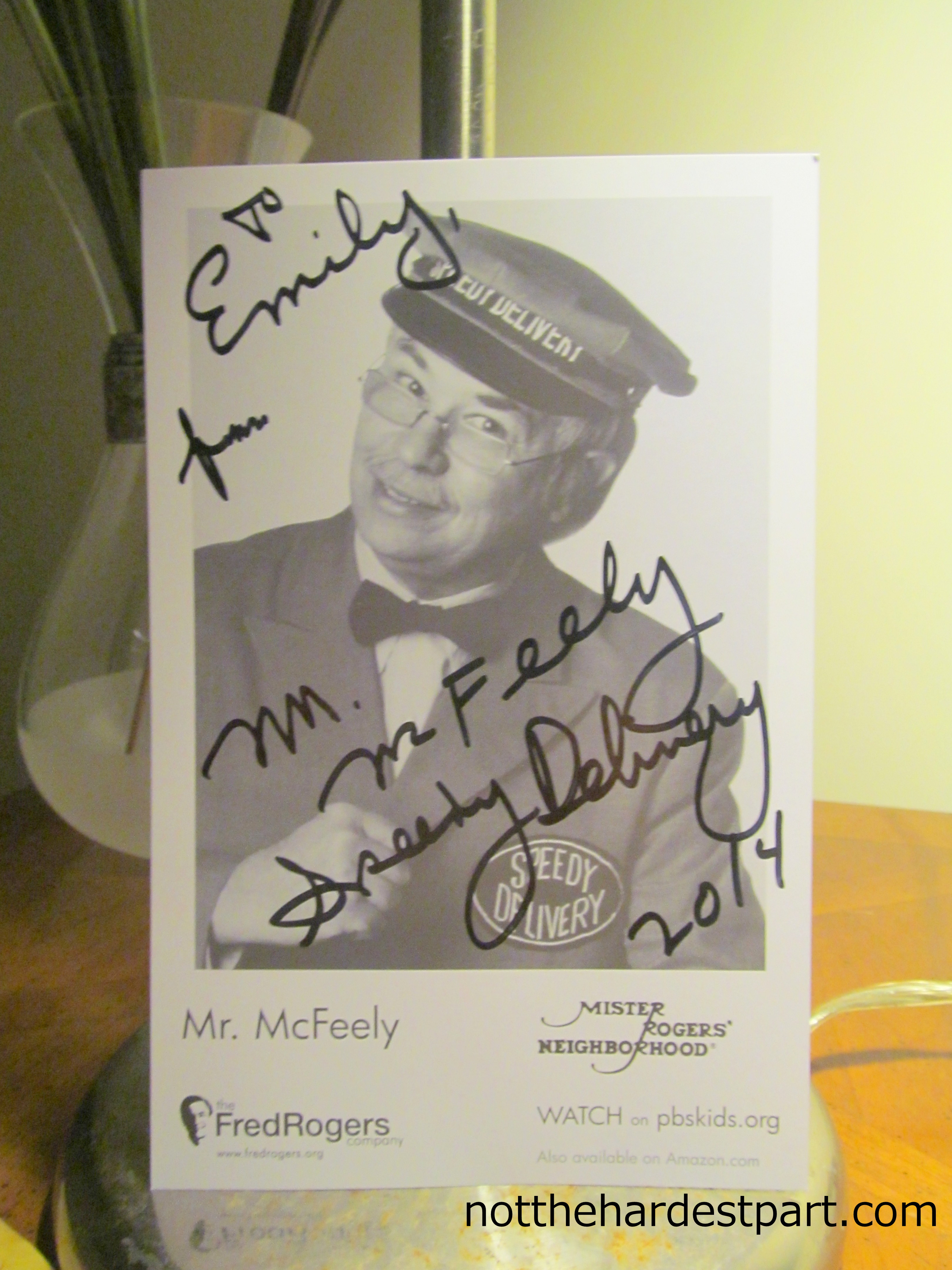 Meeting Mr Mcfeely The Waiting