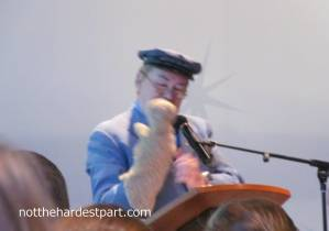 Mr. McFeely even brought Daniel Tiger! pretty much every parent at the event kind of lost it at that point.