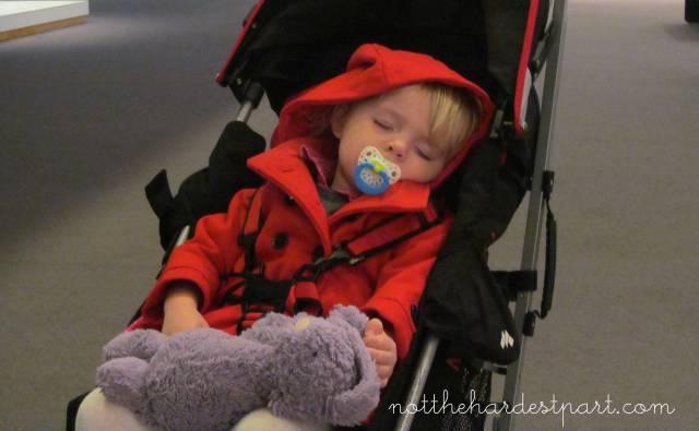 sleepy stroller