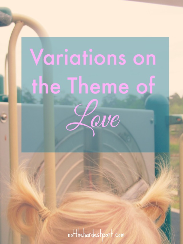 exploring variations on the word love Exploring math in preschool is not magic exploring concepts in mathematics with a classroom of four year olds can be one of when love and acceptance are at.