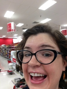 I was so happy that I had to take a selfie. This is what my life has come to, friends.