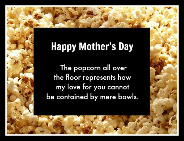 Popcorn mother