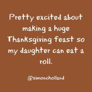 Eat a roll