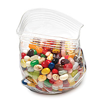 Glass Zipper Bag