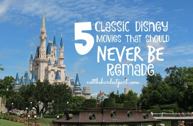 5 classic disney movies