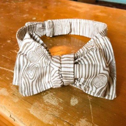 Woodgrain Bow Tie!